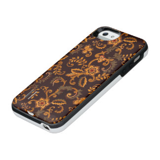 Chocolate Floral Power Gallery iPhone SE/5/5S Case