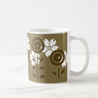 Chocolate Flowers Mug