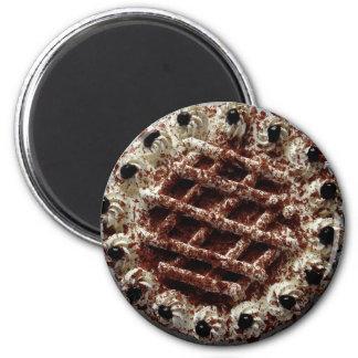 Chocolate French Silk Pie Magnet