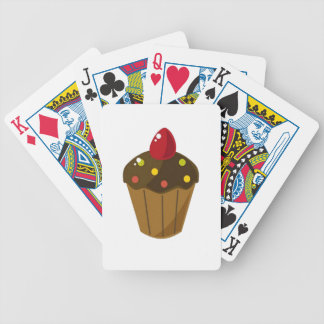 Chocolate Frosted Cupcake Deck Of Cards
