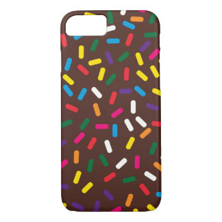 Chocolate Frosted Sprinkles iPhone 8/7 Case