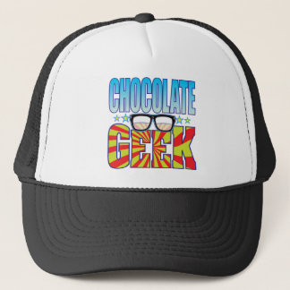 Chocolate Geek v4 Trucker Hat