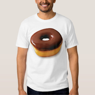 Chocolate Glazed Doughnut Tee Shirt