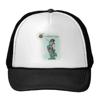 Chocolate Goddess Grecian Trucker Hats