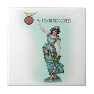 Chocolate Goddess Grecian Tile
