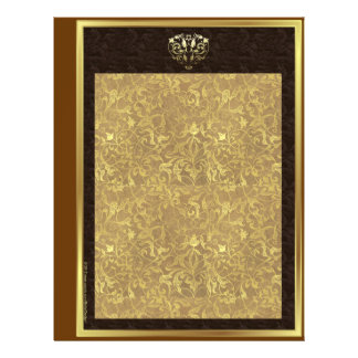 Chocolate Gold Wedding Album, Scrapbook Pages 21.5 Cm X 28 Cm Flyer