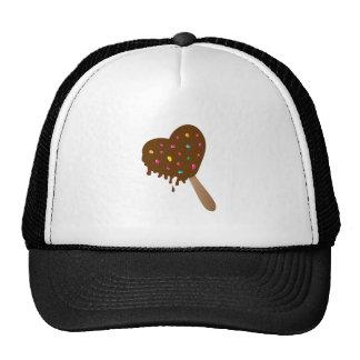 Chocolate Heart Trucker Hats