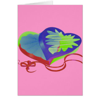 CHOCOLATE HEART GREETING CARDS