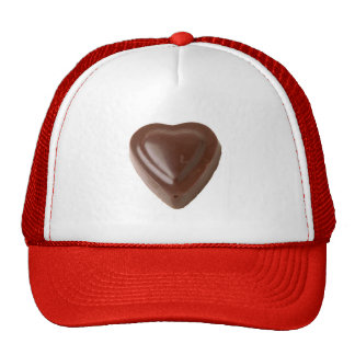 Chocolate Heart Trucker Hat