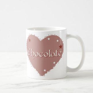Chocolate Heart (Light) Coffee Mug