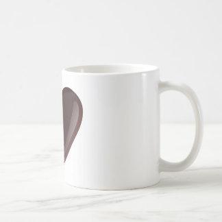 Chocolate Heart Coffee Mugs