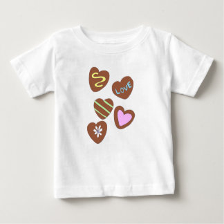 Chocolate Hearts Baby T-Shirt