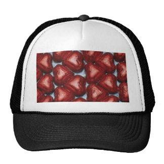 Chocolate Hearts Mesh Hat