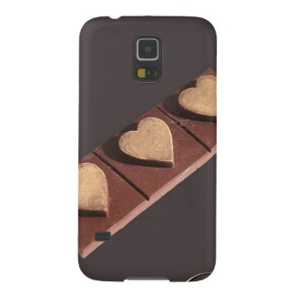 Chocolate Hearts Save the Date Galaxy S5 Cover