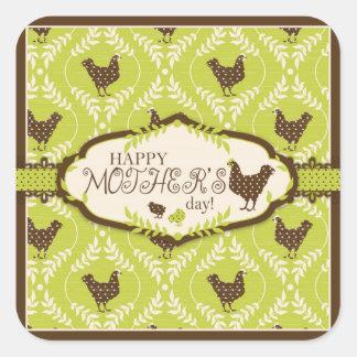 Chocolate Hens Sticker S