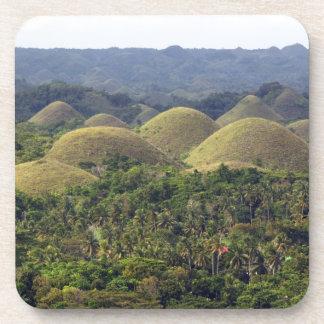 Chocolate Hills Bohol Island Philippines Drink Coaster
