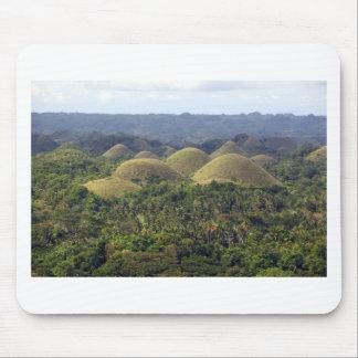 Chocolate Hills Bohol Island Philippines Mousepad