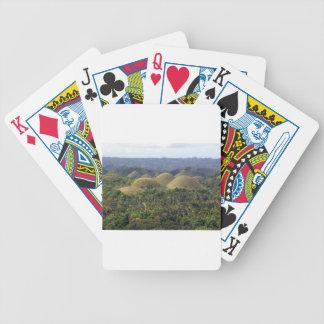 Chocolate Hills Bohol Island Philippines Bicycle Card Decks