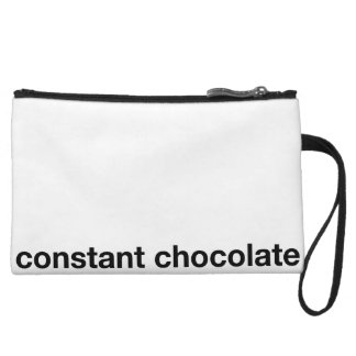 Chocolate Holder Wristlet Purses