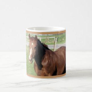 Chocolate Horse Basic White Mug