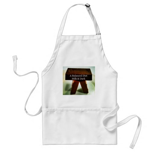 Chocolate Humour - A Balanced Diet Aprons