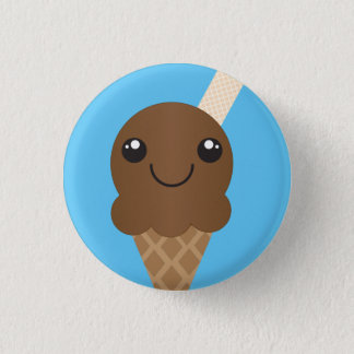 Chocolate Ice Cream Button