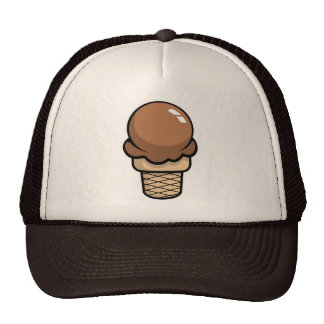 Chocolate Ice Cream Hat