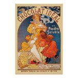 Chocolate Ideal Poster