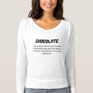 Chocolate is a Vegetable shirt II