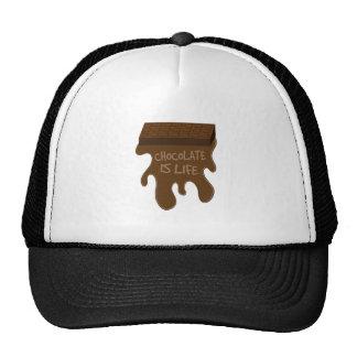 Chocolate Is Life Trucker Hat