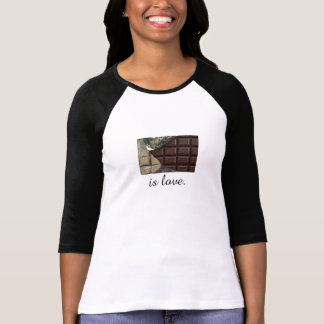 Chocolate Is Love Women's Bella T-Shirt