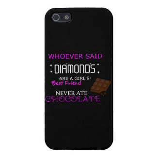 Chocolate Is My BFF Cell Phone Case iPhone 5/5S Cases