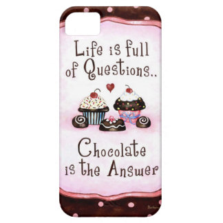 Chocolate is the answer iPhone 5 cases