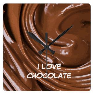 Chocolate Kitchen Wall Clocks