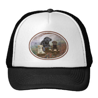 Chocolate Lab Apparel By PetVenturesUSA Mesh Hats