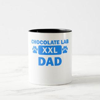 Chocolate Lab Dad Coffee Mug
