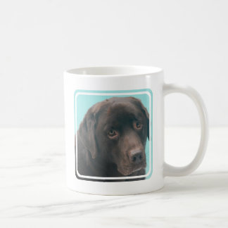 Chocolate Lab Dog Coffee Mug