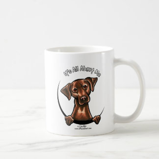 Chocolate Lab Its All About Me Coffee Mug