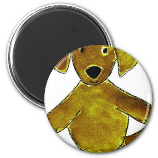 Chocolate Lab Pink Bows Refrigerator Magnets