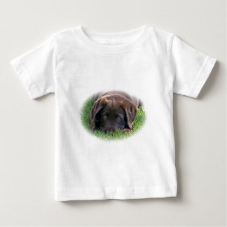 Chocolate Lab Puppy Baby T-Shirt