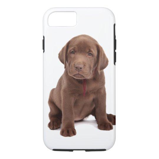 Chocolate Lab Puppy iPhone 8/7 Case