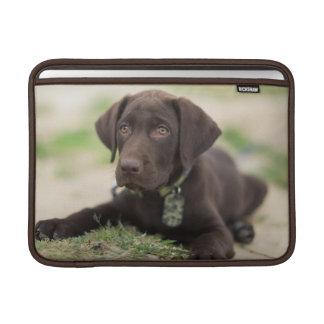 Chocolate Lab Puppy MacBook Sleeve
