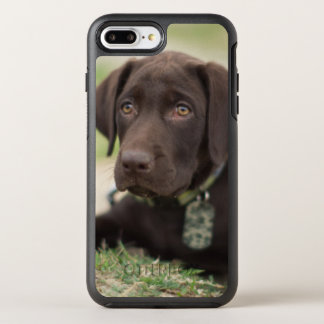 Chocolate Lab Puppy OtterBox Symmetry iPhone 8 Plus/7 Plus Case
