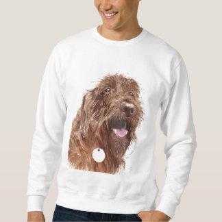 Chocolate Labradoodle #1 Sweatshirt