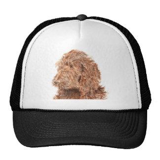 Chocolate Labradoodle #2 Cap Hat