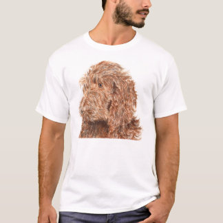 Chocolate Labradoodle #2 T-shirt