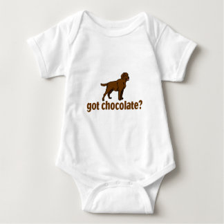 Chocolate Labrador Baby Bodysuit