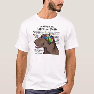 Chocolate Labrador Brain Atlas T-Shirt