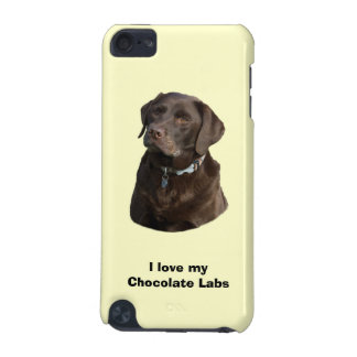 Chocolate Labrador dog photo portrait iPod Touch 5G Cover