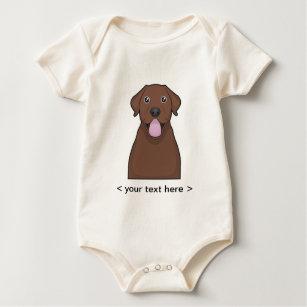 Chocolate Labrador Baby Clothes Apparel Zazzle Uk